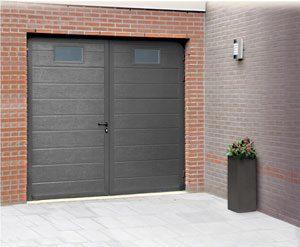 La Porte De Garage Battante Isofenisofen