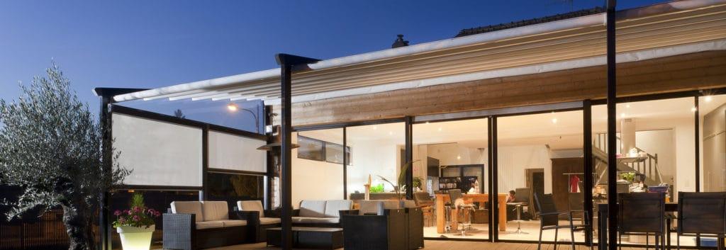 Les Dimensions Standard Des Pergolas Pour Terrasse Sont De 6 Mètres De Long  Sur 3 Mètres De Hauteur. Elle Peut Recouvrir Tout Ou Une Partie De La  Terrasse.