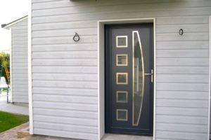 Porte d'entrée aluminium ---Mulhouse---Haut-Rhin-(68)