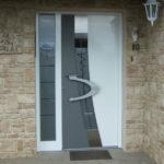 porte d'entrée -aluminium---Soultz---Haut-Rhin-(68)