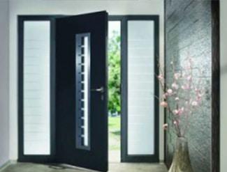 portes en aluminium