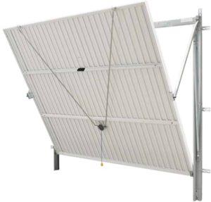 Installer une porte de garage en alsace isofen sarl for Porte de garage basculante sans rail de guidage au plafond