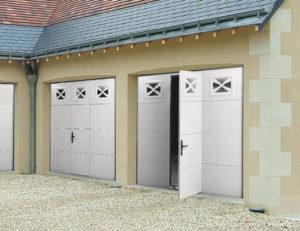 La porte de garage battante pour quel mod le opter - Porte de garage battante ...