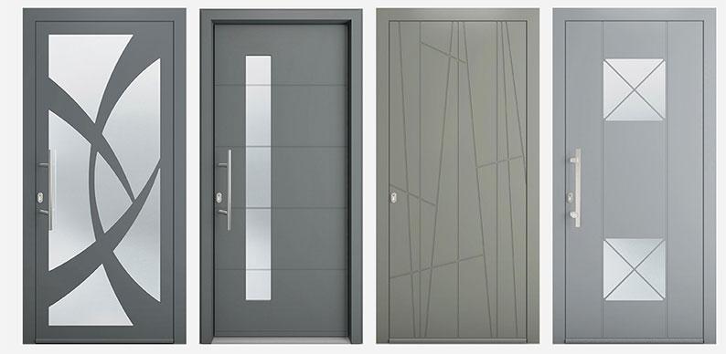 Installer une porte d entr e en aluminium le magazine d 39 isofen for Les portes aluminium