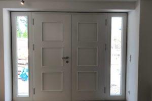 Installer une porte de style